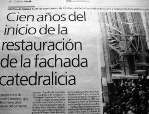 Reportaje de José Vicente Avila en El Día, 28-9-2010.