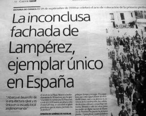 Reportaje de José Vicente Avila en El Día, 1-10-2010.