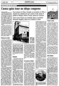 El Día de Cuenca, 21-07-1996