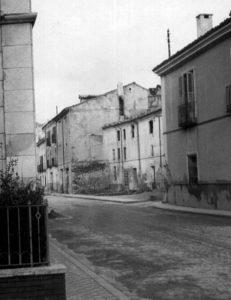 Calle Ramón y Cajal en la década de los 60.
