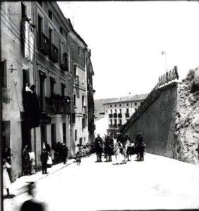 Se levantaba el muro de Alfonso VIII y Andrés de Cabrera. (Descubriendo Cuenca/facebook)