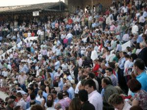Maximino logró éxitos de público con su Corrida de Primavera briocense.