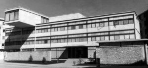 Casa de Cultura, tras su inauguración en 1965. Foto Texeda.