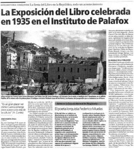 El Día de Cuenca, mayo 2011