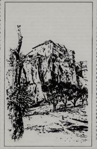 Vista de la Serrania.