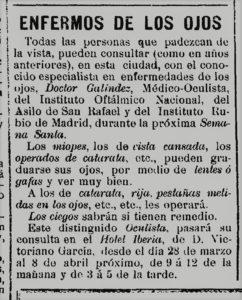 El Liberal, 1915.