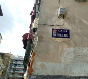 Calle Doctor Galíndez desde el otoño de 1919.