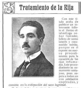 Vida Manchega, marzo 1919.