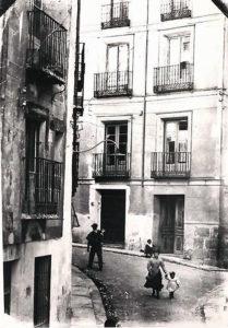 Calle Andrés de Cabrera ante del ensanche.