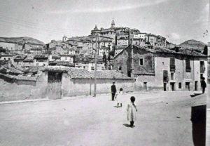 Calle de las Torres hacia 1915.
