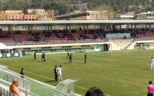Celebraciòn del gol de Adiguibe. / Josevi