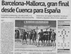"""""""El Día de Cuenca"""", 29-06-2002"""