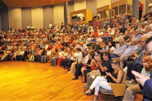 La Sala 2 del Auditorio se quedó pequeña. / MT