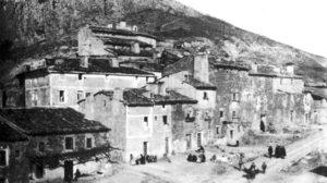 El barrio del Castillo hacia 1915.