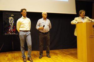 El Gallo, El Estudiante e Iñaki Cano. / MT