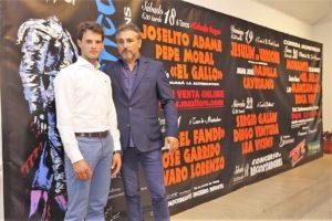 "Maximino Pérez junto a ""El Gallo"" / MT"
