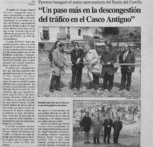 El Día de Cuenca, 18 de abril 1999.