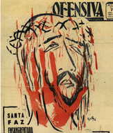 "Portada en ""Ofensiva"", 1955."