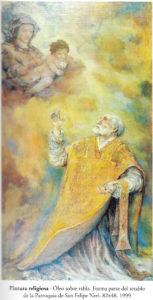 Tabla del Retablo de San Felipe Neri