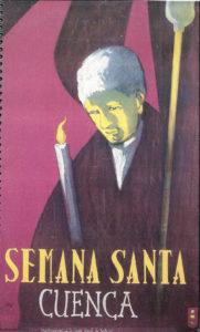 Cartel de la Semana Santa de Cuenca 1957.