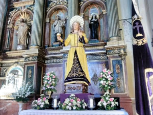 María Magdalena en el altar mayor. / Josevi
