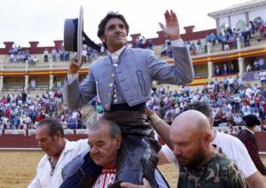 Diego Ventura, el gran triunfador. / Foto Julio Palencia.