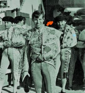 """""""El Cordobés"""" en su presentación en Cuenca en 1964."""