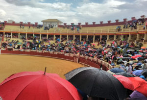 La lluvia solo hizo acto de presencia en el prólogo.