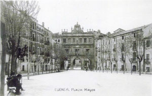 Plaza Mayor postal 1920