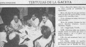 Gaceta Conquense, 1986.