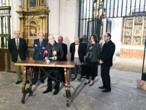 Presentación del acto por parte del director de la Catedral.