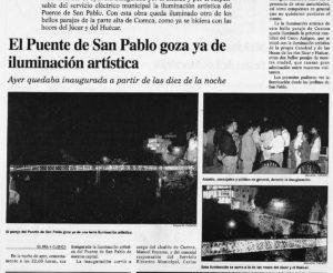 El Día de Cuenca, 1997.