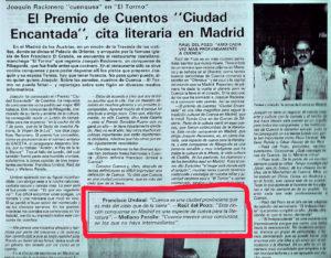 """""""Gaceta Conquense"""", junio 1988."""