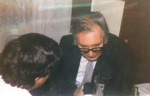 Umbral, entrevistado por José Vicente Ávila.