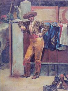 """""""El Veneno"""", óleo de J. Benlliure, donado al Ayuntamiento."""