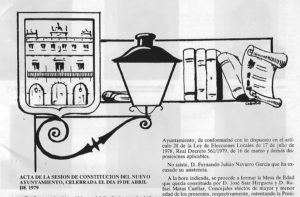 Cabecera Boletín Municipal con firma de Cabañas.