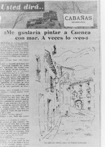 Diario de Cuenca, 16-12-1975. Usted dirá.