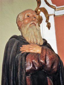 San Antón en la Virgen de la Luz. / Josevi