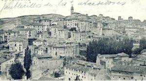 Vista de Cuenca desde Tiradores. 1920
