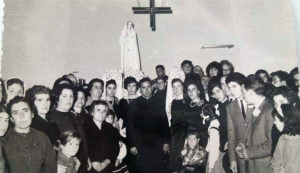 Inauguración de la capilla en 1967. / Publicación.