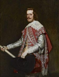 4.El Rey Felipe IV presidió la procesión del Corpus en Cuenca en 1642. / Cuadro de Velazquez
