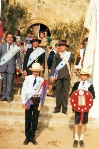Mayordomos del Corpus de Altarejos.  1984.