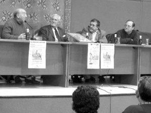 Jornadas taurinas. Juanito Recuenco, Jesús Sánchez, Chicuelito y Eulalio López.