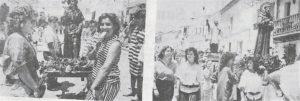 Corpus con imágenes en Villanueva de la Jara. / Gaceta Conquense, Ramón Herraiz.