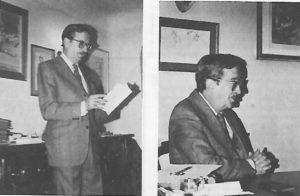 Tomás Cruz. / Gaceta Conquense 1985.