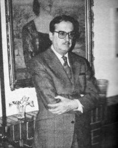Tomás Cruz Díaz, el Bogart conquense, en las Cuevas Sésamo. / José María Árias (Gaceta Conquense)