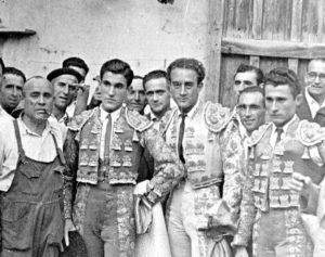 Jesús Sánchez, Juanito Recuenco y Tomás Sánchez.