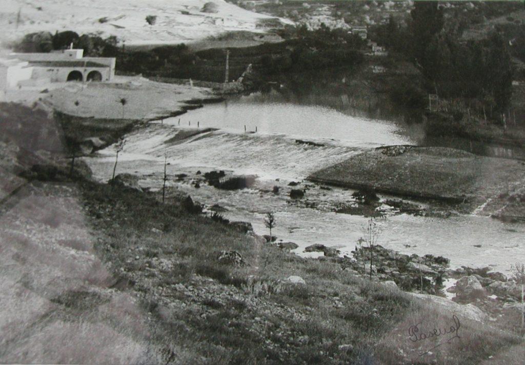 Vista de la obra de la Playa recién construida en 1943. Foto: Luis Pascual.