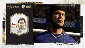 Petr Čech ve FIFA 21 •Foto: EA Sports