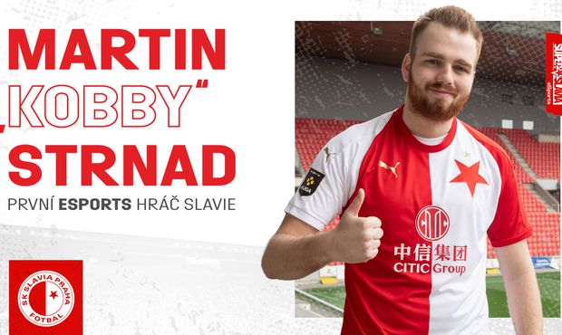 Slavia vstupuje do esportu. Angažovala FIFA hráče Kobbyho, další bude hledat